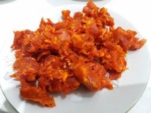 scialatielli di castagna con salsiccia funghi porcini tarallo sbriciolato 6