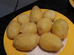 Gateau di patate ed alici