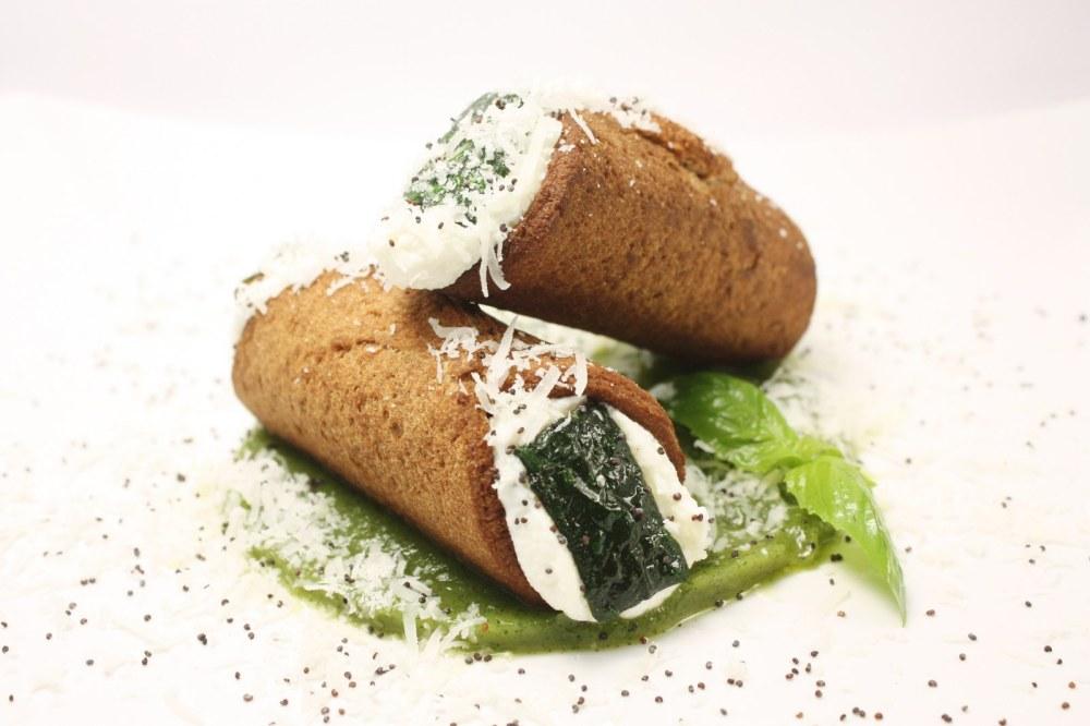 Cannoli salati alla Nerano