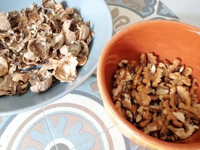 Mezzanelli tagliati con funghi porcini zafferano castelmagno dop e noci di Sorrento